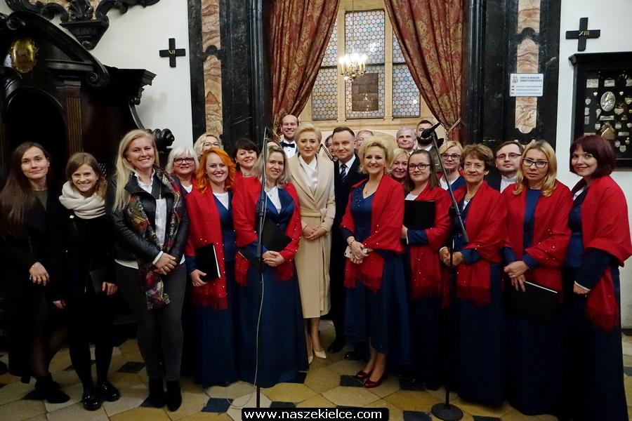 kielce wiadomości Kielecki Chór Garnizonowy wystąpił na Wawelu dla Prezydenta Dudy (ZDJĘCIA,WIDEO)