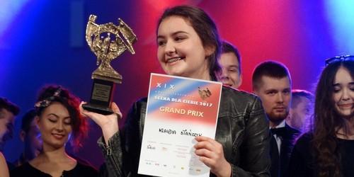 kielce kultura Klaudia Stańczyk wyśpiewała Grand Prix XIX edycji konkursu Scena