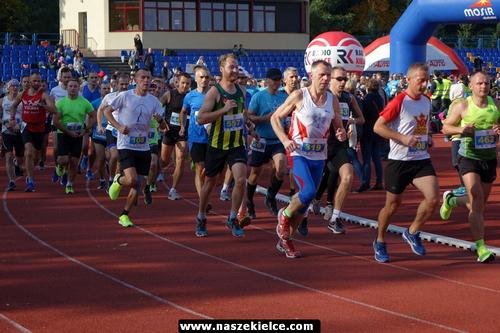 kielce sport Łukasz Woźniak zwycięzcą 7.Kieleckiej Dychy (ZDJĘCIA,WIDEO)