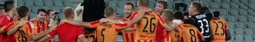 kielce sport Korona pokonała Arkę Gdynia i awansowała na wicelidera tabeli (zdję