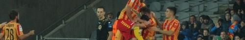 kielce sport Korona pokonała Lechię. Jacek Kiełb bohaterem meczu
