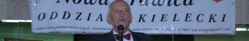 kielce wiadomości Janusz Korwin-Mikke gościł w Kielcach - video