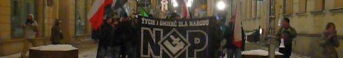 """kielce """"Życie i śmierć dla narodu"""" – ulicami Kielc przeszedł marsz NOP (video)"""