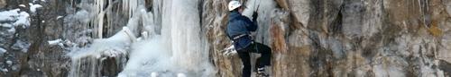 kielce wiadomości Sobotnia wspinaczka na lodospad (video)