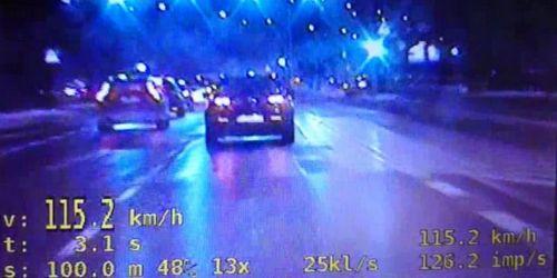 kielce wiadomości Stracił prawo jazdy za 115 km/h w centrum Kielc