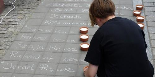 kielce wiadomości Uczcili ofiary pogromu w Kielcach (ZDJĘCIA,WIDEO)