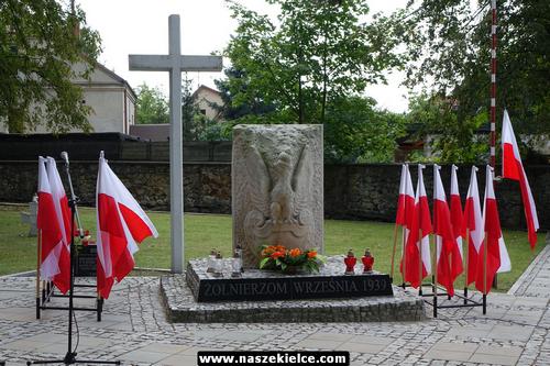 kielce wiadomości Kielczanie pamiętali o ofiarach II wojny światowej (ZDJĘCIA)