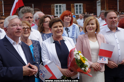 kielce wiadomości Beata Szydło z wizytą w regionie