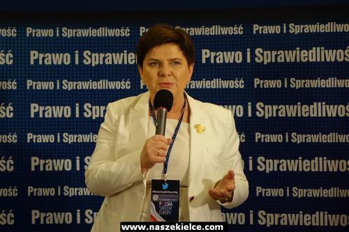 kielce wiadomości Wicepremier Beata Szydło spotkała się w Kielcach z młodymi użytkownikami mediów społecznych