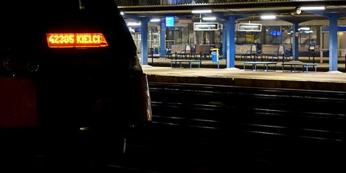 kielce wiadomości Desperat na dworcu kolejowym. Chciał skoczyć pod pociąg?