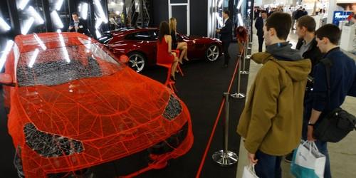 kielce wiadomości Dni Druku 3D w Targach Kielce. Są bolidy i Ferrari z drukarki