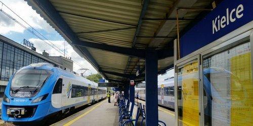 kielce wiadomości Komfortowe perony i krótsze podróże koleją w świętokrzyskim