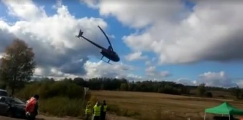 kielce wiadomości Kielczanin zginął w wypadku śmigłowca (WIDEO)