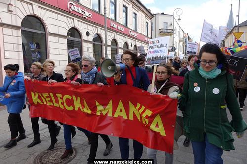 kielce wiadomości Kielce stolicą wyzwolonych kobiet? Przez miasto przeszła Kielecka Manifa (ZDJĘCIA,WIDEO)