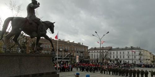 kielce wiadomości Kielczanie uczcili 99 rocznicę odzyskania niepodległości (ZDJĘCIA,WIDEO)