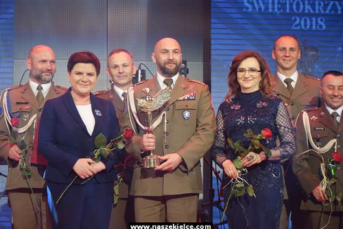 kielce wiadomości Wojewoda przyznała Laury. Gościem gali była wicepremier Beata Szydło (ZDJĘCIA)