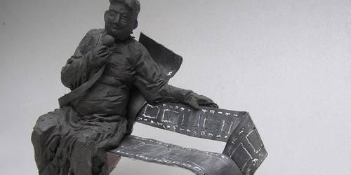 kielce wiadomości Ławeczką upamiętnią Andrzeja Kozieję