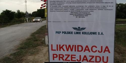 kielce wiadomości Mieszkańcy Biesagu zablokują Krakowską? Kolej likwiduje przeja