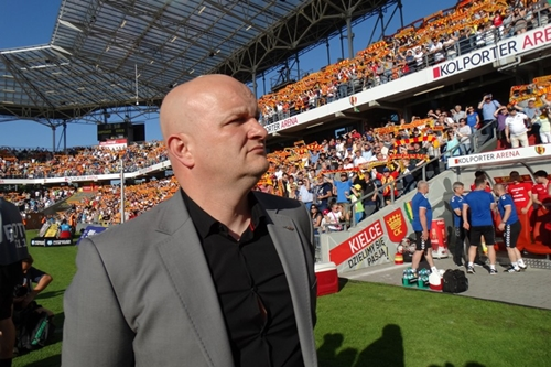 kielce wiadomości Maciej Bartoszek znów trenerem Korony Kielce