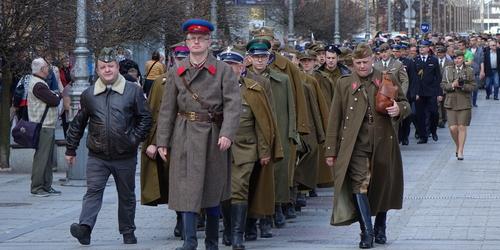 kielce wiadomości Kielczanie pamiętali o zbrodni katyńskiej (ZDJĘCIA,WIDEO)