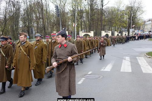 kielce wiadomości Marsz cieni przeszedł przez Kielce (ZDJĘCIA,WIDEO)