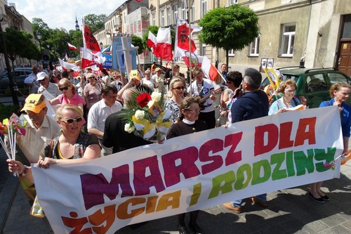 kielce wiadomości Marsz w obronie życia i rodziny znów przejdzie ulicami Kielc