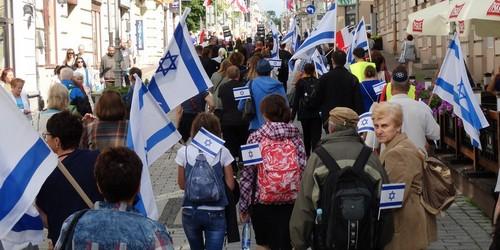 kielce wiadomości Marsz i Koncert Życia i Poparcia dla Izraela w Kielcach (ZDJĘC