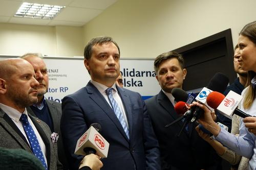 kielce wiadomości Minister Zbigniew Ziobro odwiedził Kielce (WIDEO)