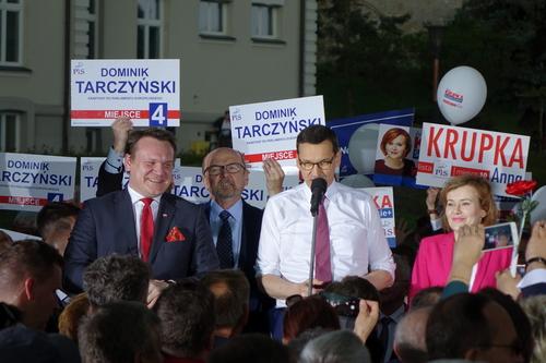 kielce wiadomości Premier Morawiecki w Kielcach: Mamy znakomitą drużynę (WIDEO)