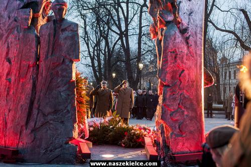 kielce wiadomości W Kielcach uroczyście obchodzono Narodowy Dzień Pamięci Żołnierzy Wyklętych