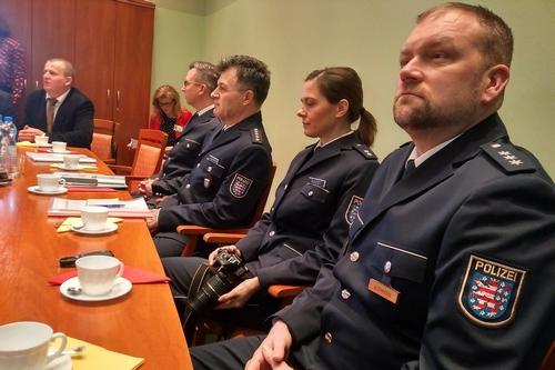 kielce wiadomości Policjanci z Niemiec goszczą w Kielcach (ZDJĘCIA)