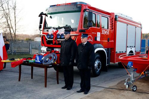 kielce wiadomości Strażacy z Woli Morawickiej mają nowy pojazd ratowniczy za 860 tysięcy złotych