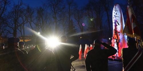 kielce wiadomości Kielczanie uczcili Żołnierzy Niezłomnych (ZDJĘCIA,WIDEO)