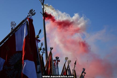 kielce wiadomości Kielce uczciły niepodległość (ZDJĘCIA,WIDEO)