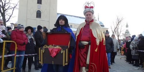 kielce wiadomości Kielczanie powitali Trzech Króli ale orszaków było więcej (zdj