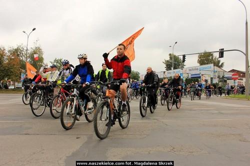 kielce wiadomości Europejski Tydzień Zrównoważonego Transportu w Kielcach. Parada rowerowa ulicami miasta