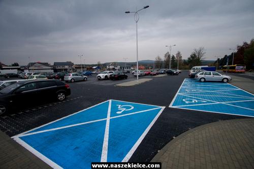 kielce wiadomości Przebudowany parking w Cedzynie przejdzie próbę (ZDJĘCIA)