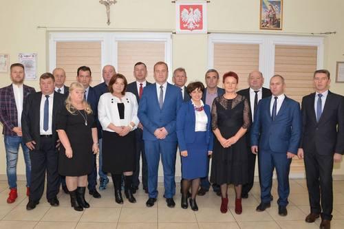 kielce wiadomości Trzecia kadencja Przemysława Łysaka w Górnie rozpoczęta