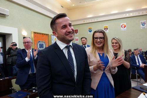 kielce wiadomości Bogdan Wenta zaprzysiężony. Kamil Suchański przewodniczącym (ZDJĘCIA,WIDEO)