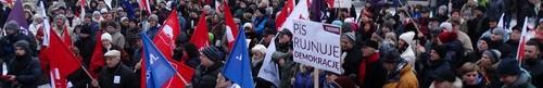 kielce wiadomości Protestowali przeciwko łamaniu konstytucji (zdjęcia,video)