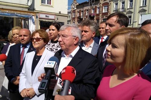 kielce wiadomości PiS startuje z kampanią wyborczą w Świętokrzyskiem