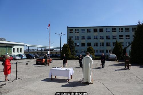 kielce wiadomości Msza polowa w koszarach świętokrzyskich Terytorialsów (ZDJĘCIA,WIDEO)