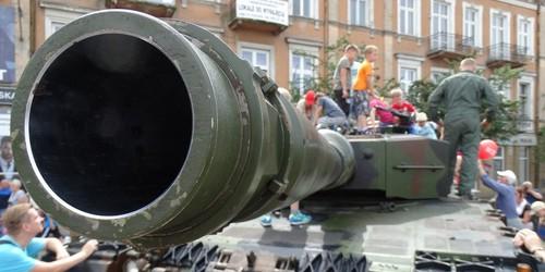 kielce wiadomości Powitanie wojsk amerykańskich w Kielcach