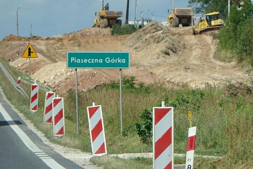 kielce wiadomości Trwają prace przy budowie obwodnicy Morawicy