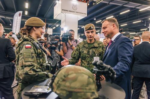 kielce wiadomości Prezydent Andrzej Duda odwiedził MSPO