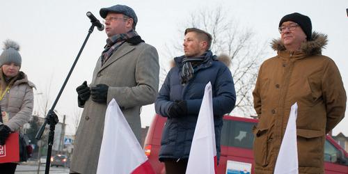 kielce wiadomości SLD i KOD protestowali przeciwko Żołnierzom Wyklętym (ZDJĘCIA,WIDEO)
