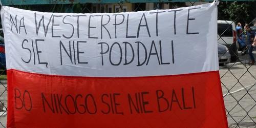 """kielce wiadomości """"Będziemy walczyć do końca jak żołnierze z Westerplatte"""". Prot"""