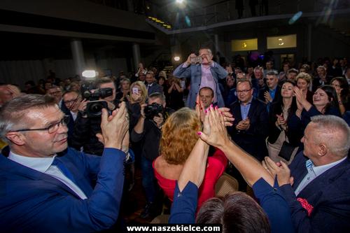 kielce wiadomości Wielka radość na wieczorze wyborczym Bogdana Wenty! (ZDJĘCIA,WIDEO)
