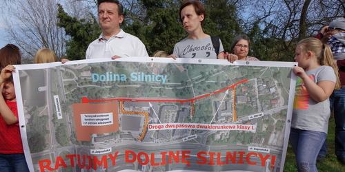 kielce wiadomości Ratujmy dolinę Silnicy. Mieszkańcy przeciwni drodze do powstającej inwestycji