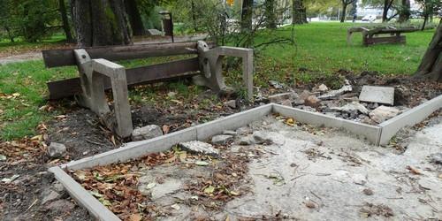 kielce wiadomości W kieleckim parku trwa remont (ZDJĘCIA)